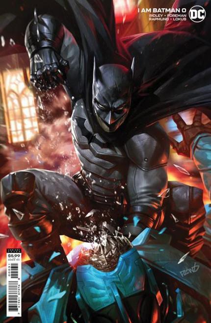 DC Comics I am Batman #0B Comic Book [Derrick Chew Cover]