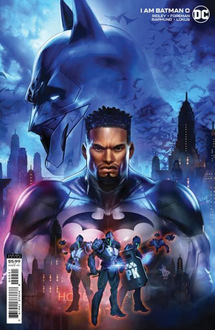 DC Comics I am Batman #0C Comic Book [Card Stock Cover]