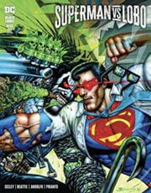 DC Comics Superman Vs. Lobo #1B Comic Book [Simon Bisley Variant] (Pre-Order ships September)