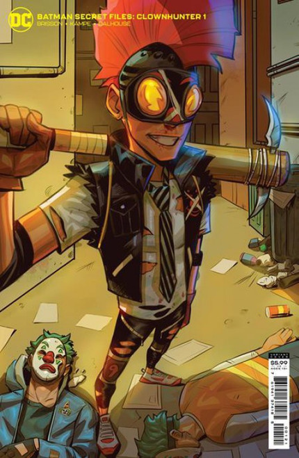 DC Comics Batman Secret Files: Clownhunter #1B Comic Book [One-Shot] (Pre-Order ships August)