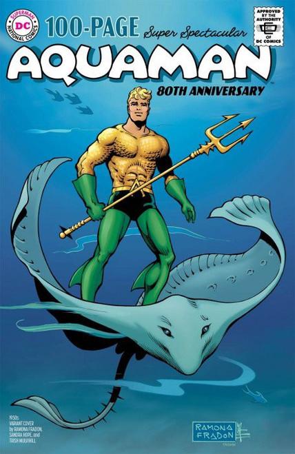 DC Comics Aquaman 80th Anniversary #1D Comic Book [Walter Simonson 1950's Variant] (Pre-Order ships August)
