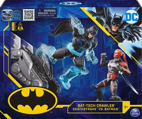 DC Batman Bat-Tech Crawler 4-Inch Playset [Deathstroke Vs. Batman]