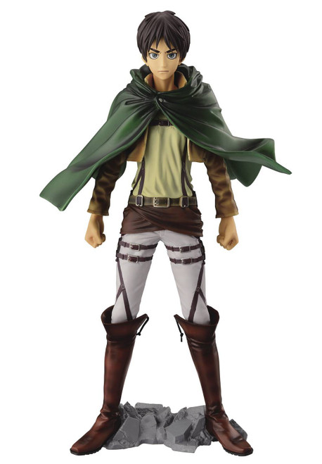 Attack On Titan Master Stars Piece Eren Yeager 10-Inch Collectible Figure (Pre-Order ships January)