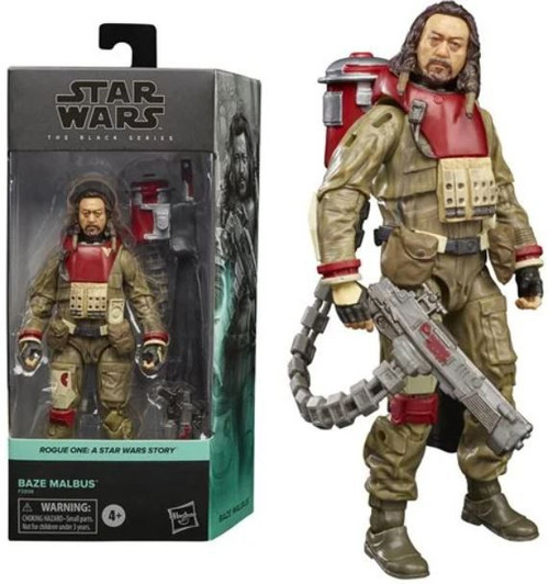 Star Wars Rogue One Black Series Baze Malbus Action Figure [A Star Wars Story] (Pre-Order ships November)