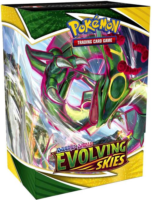 Pokemon Trading Card Game Sword & Shield Evolving Skies Build & Battle Box [4 Booster Packs & Promo Card]