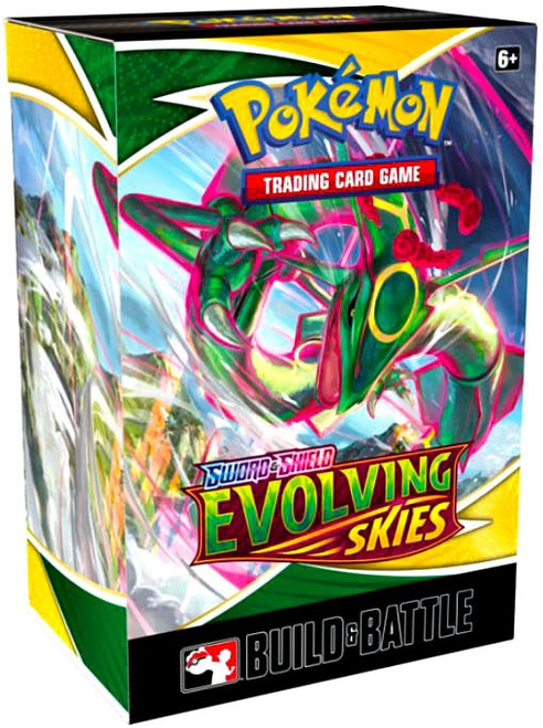 Pokemon Trading Card Game Sword & Shield Evolving Skies Build & Battle DISPLAY Box [10 Units]
