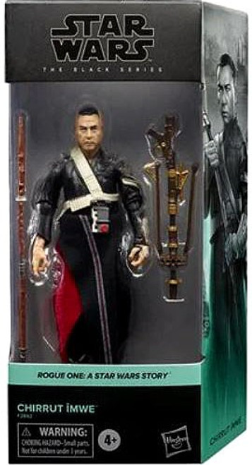 Star Wars Rogue One Black Series Chirrut Imwe Action Figure [A Star Wars Story] (Pre-Order ships November)