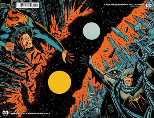 DC Comics Batman Superman 2021 Annual #1B Comic Book [Francesco Francavilla Connected Flip Variant]