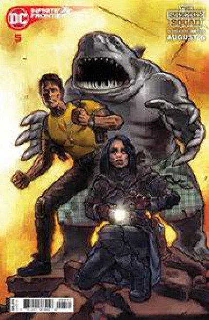 DC Comics Infinite Frontier #5C Comic Book [John K. Snyder Movie Variant]