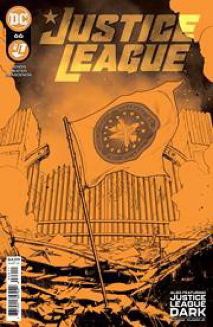 DC Justice League #66A Comic Book