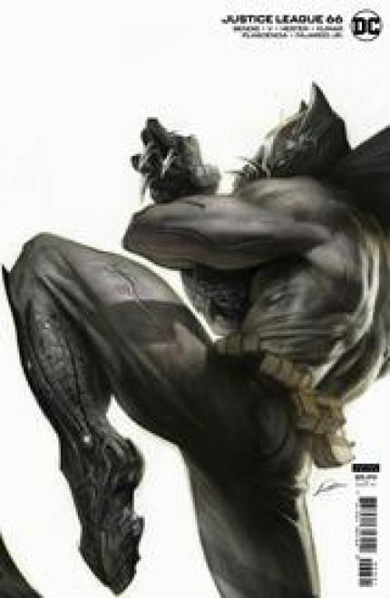 DC Justice League #66B Comic Book [Alexander Lozano Cardstock Variant] (Pre-Order ships July)