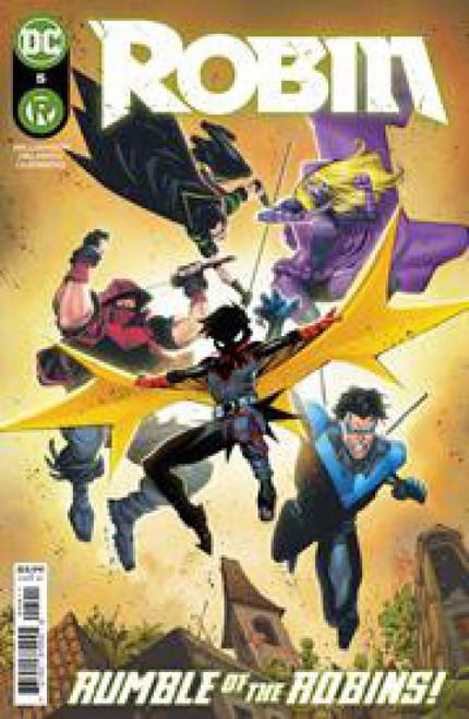 DC Robin #5A Comic Book