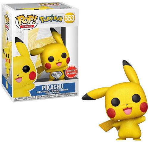 Funko Pokemon POP! Games Pikachu Exclusive Vinyl Figure #553 [Diamond]