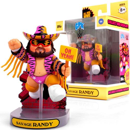 Garbage Pail Kids Topps GPK x WWE Savage Randy Exclusive Figurine