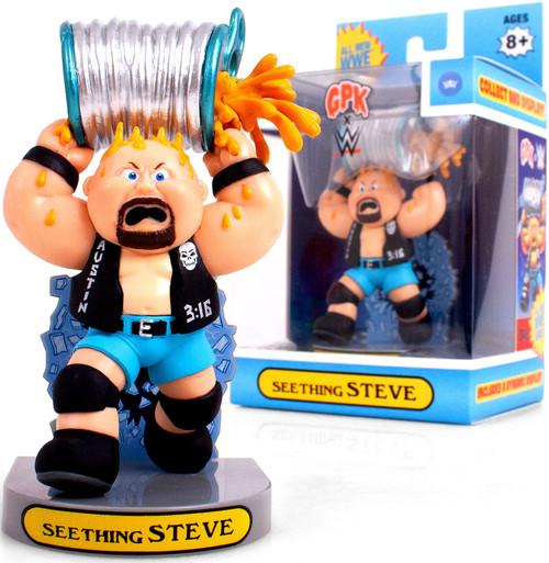 Garbage Pail Kids Topps GPK x WWE Seething Steve Exclusive Figurine