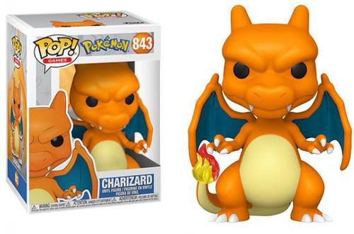 Funko Pokemon POP! Games Charizard Vinyl Figure #843 (Pre-Order ships August)