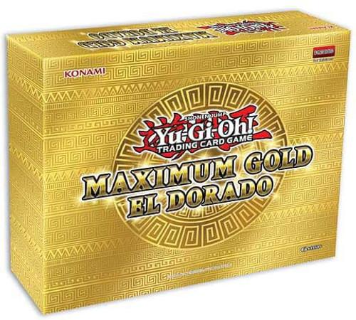 YuGiOh Trading Card Game Maximum Gold El Dorado MINI Box [4 Booster Packs] (Pre-Order ships November)