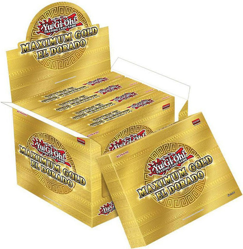 YuGiOh Trading Card Game Maximum Gold El Dorado DISPLAY Box [5 MINI Boxes (20 Booster Packs)] (Pre-Order ships November)