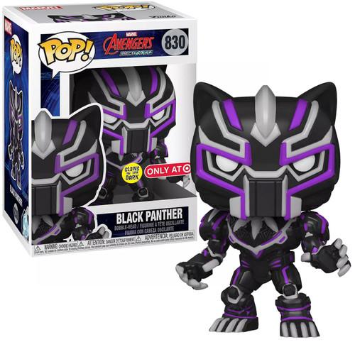 Funko Mechstrike POP! Marvel Black Panther Exclusive Vinyl Figure #830 [Glow-in-the-Dark]