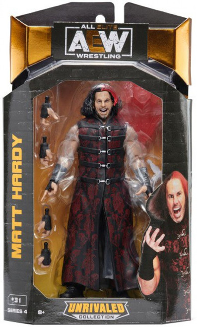 AEW All Elite Wrestling Unrivaled Collection Series 4 Matt Hardy Action Figure