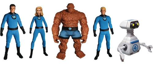 Marvel One:12 Collective Fantastic Four Deluxe Action Figure 5-Pack Steel Boxed Set (Pre-Order ships April)