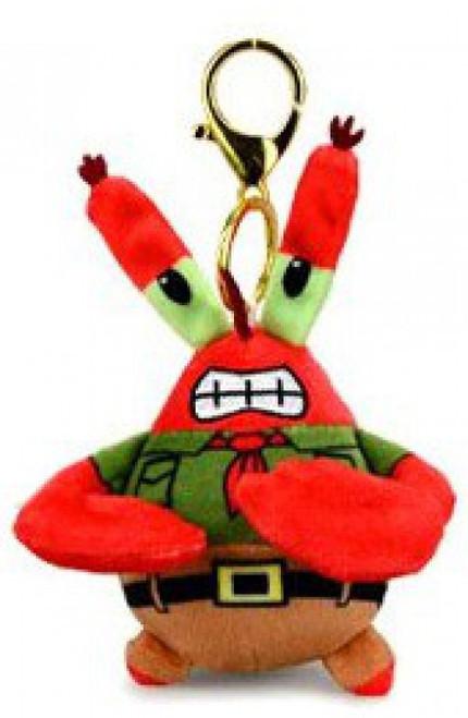 Nickelodeon Spongebob Squarepants Kamp Koral Mr. Krabs 3-Inch Plush Charm (Pre-Order ships December)