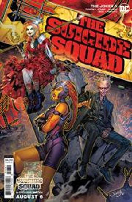 DC Comics Joker (2021) #6D Comic Book [Jonboy Meyers Movie Variant]