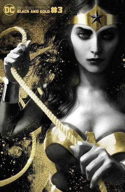 DC Comics Wonder Woman Black & Gold #3B Comic Book [Joshua Middleton Variant] (Pre-Order ships September)