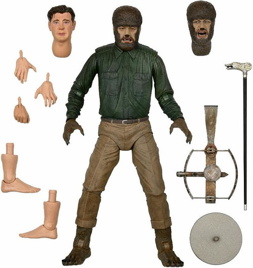 NECA Universal Monsters Wolf Man Action Figure [Ultimate Version, Lon Chaney] (Pre-Order ships November)