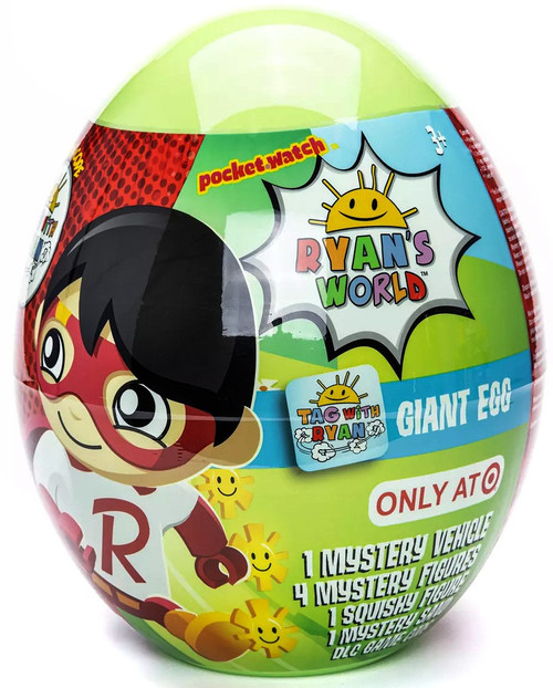 Ryan's World TAG with Ryan Giant Egg Exclusive Mystery Surprise (Pre-Order ships September)