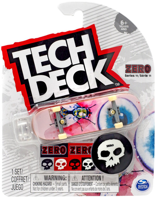 Tech Deck Series 11 Zero 96mm Mini Skateboard [Fly]
