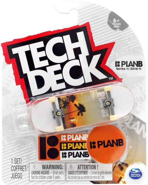 Tech Deck Series 11 PlanB 96mm Mini Skateboard [Palm]