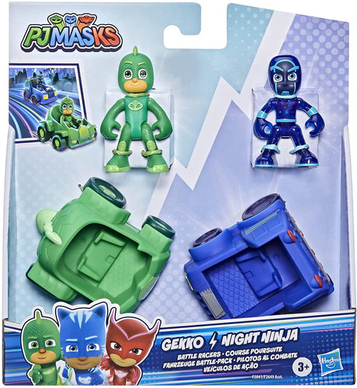 Disney Junior PJ Masks Hero Vs Villain Gekko vs. Night Ninja Battle Pack (Pre-Order ships October)