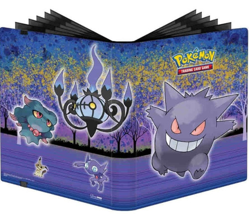 Ultra Pro Pokemon Trading Card Game Gallery Series Haunted Hollow 9-Pocket Pro Binder (Pre-Order ships January)
