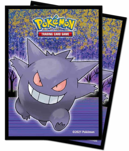 Ultra Pro Pokemon Trading Card Game Gallery Series Haunted Hollow Standard Card Sleeves [65 Count] (Pre-Order ships January)