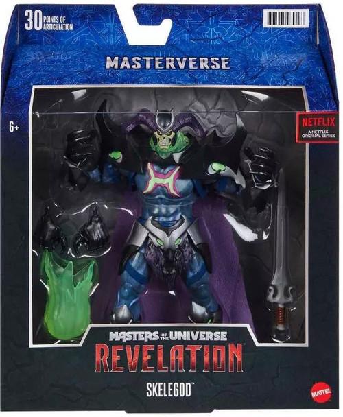 Masters of the Universe Revelation Masterverse Skelegod Deluxe Action Figure
