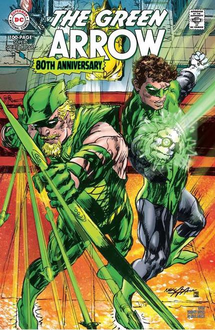 DC Comics The Green Arrow #1 80th Anniversary Comic Book [1960's Neal Adams Variant]