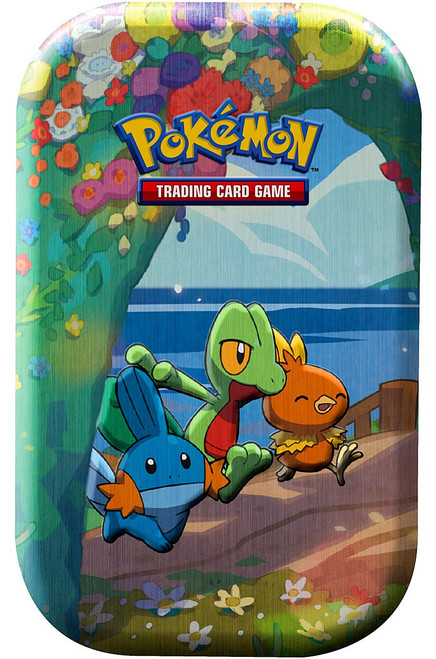 Pokemon Trading Card Game Celebrations Treecko, Torchic & Mudkip Mini Tin Set [2 Celebrations Booster Packs + 1 Additional Booster Pack & Coin] (Pre-Order ships October)