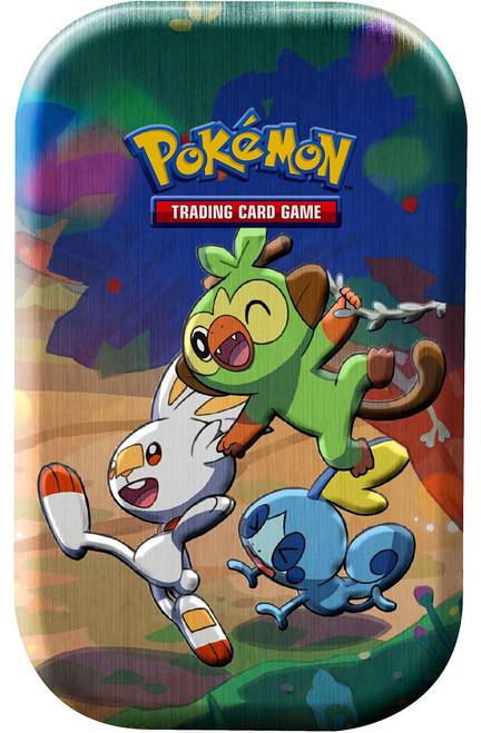 Pokemon Trading Card Game Celebrations Grookey, Scorbunny & Sobble Mini Tin Set [2 Celebrations Booster Packs + 1 Additional Booster Pack & Coin] (Pre-Order ships October)