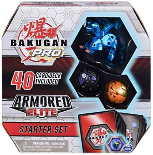 Bakugan Pro Armored Elite Howlkor Ultra Starter Set