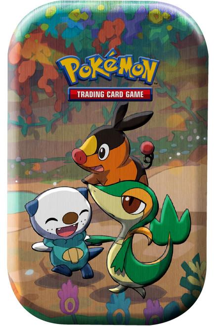 Pokemon Trading Card Game Celebrations Snivy, Tepig & Oshawott Mini Tin Set [2 Celebrations Booster Packs + 1 Additional Booster Pack & Coin] (Pre-Order ships October)