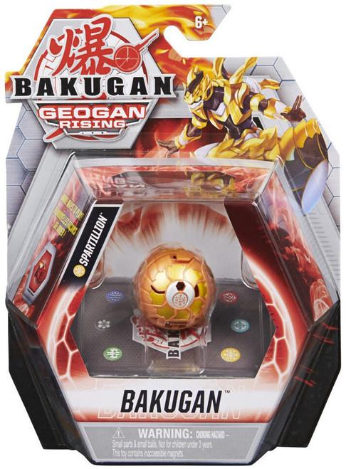 Bakugan Geogan Rising Spartillion Single Figure & Trading Card