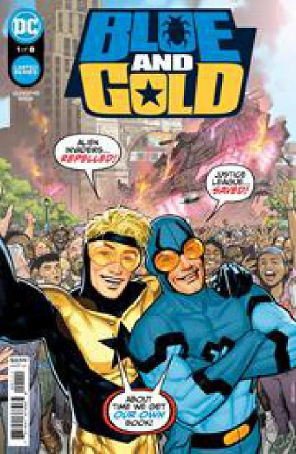 DC Comics Blue & Gold #1A Comic Book