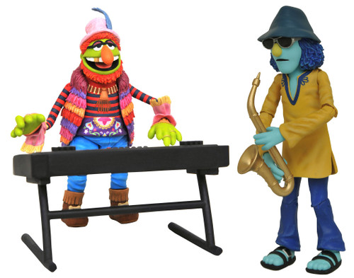 The Muppets Best of Series 3 Dr. Teeth & Zoot Action Figure 2-Pack (Pre-Order ships October)