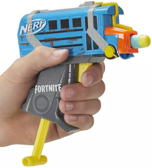 NERF Fortnite Microshots Battle Bus Dart Blaster Toy (Pre-Order ships September)