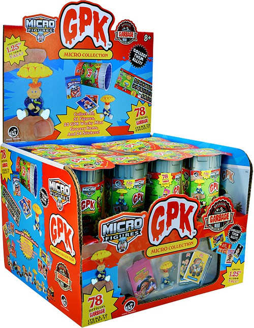 Garbage Pail Kids Micro Figures GPK Collection Series 1 Mystery Box [24 Packs] (Pre-Order ships March)