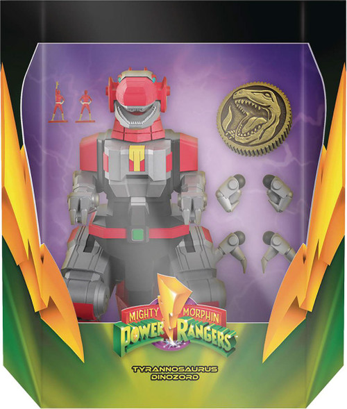 Mighty Morphin' Power Rangers Ultimates Tyrannosaurus Dinozord Action Figure (Pre-Order ships June 2022)