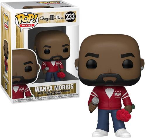 Funko Boyz II Men POP! Rocks Wanya Morris Vinyl Figure (Pre-Order ships August)