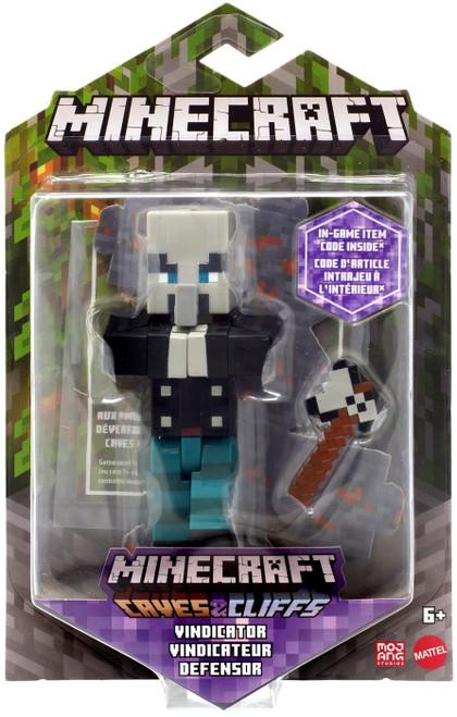 Minecraft Caves & Cliffs Vindicator Action Figure
