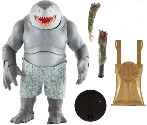 McFarlane Toys DC Multiverse Gold Label Collection King Shark Exclusive MEGA Action Figure [Suicide Squd]